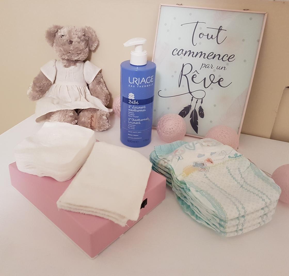 Le zéro déchet avec bébé Liniment maison Lingettes lavable