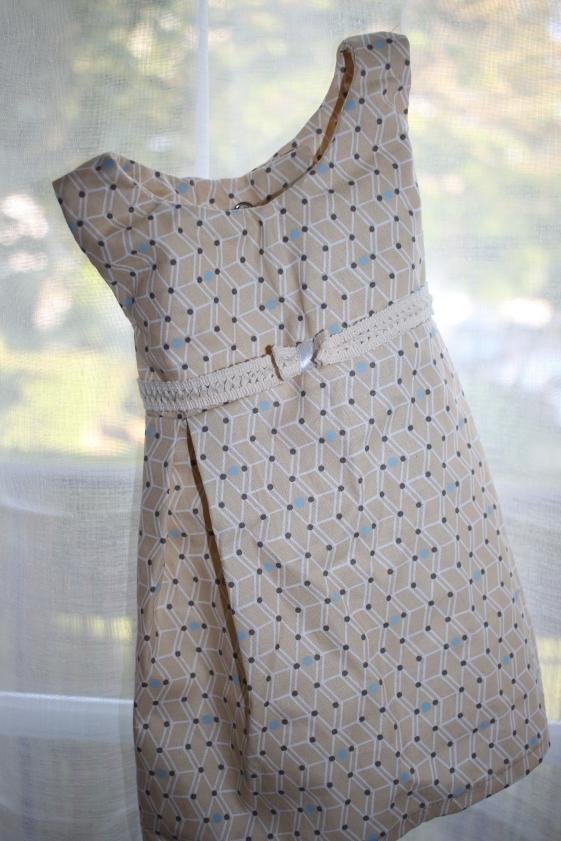 Robe 6 mois fille coton