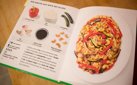 recette livre simplissime vegetarien (1 sur 1)