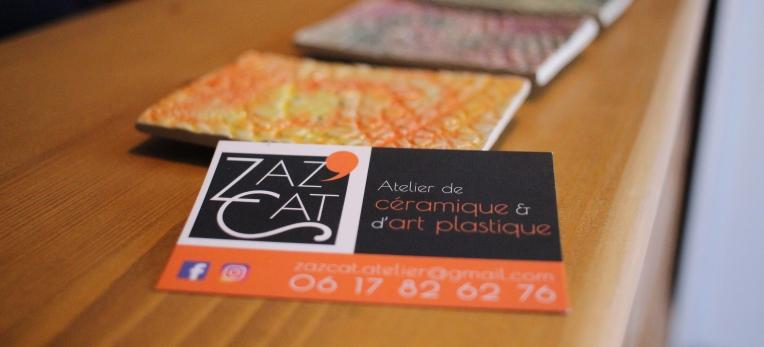 Zap Cat Ceramique art plastique