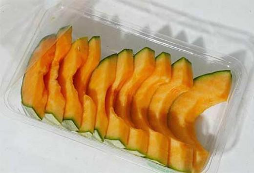 melon pre decoupé